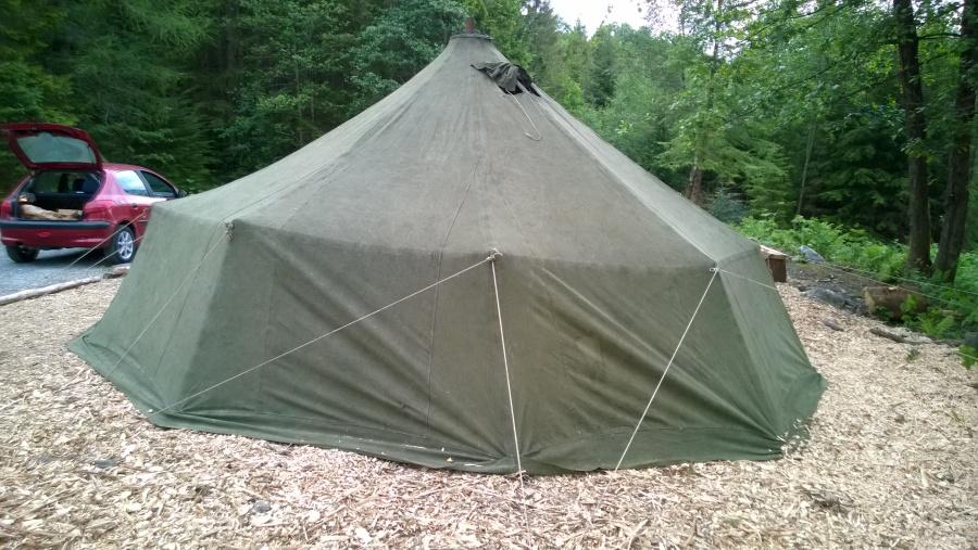 Forsvarets 16 manns telt, teltsett Depotsjefen`s nettbutikk