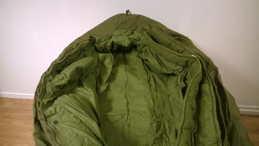 militær sovepose